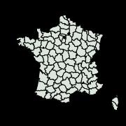carte de répartition de Carcharodus floccifera (Zeller, 1847)