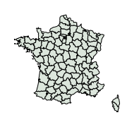carte de répartition de Discestra gredosi (Laever, 1977)