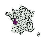 carte de répartition de Yponomeuta sp.