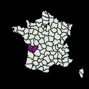carte de répartition de Bactra sp.